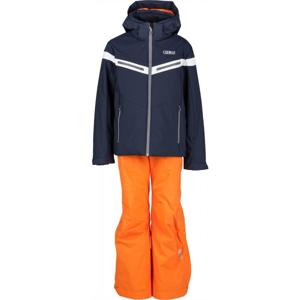 Colmar JR BOY 2-PC SUIT oranžová 12 - Chlapecký lyžařský komplet
