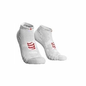 Compressport RACE V3.0 RUN LO bílá T2 - Běžecké ponožky