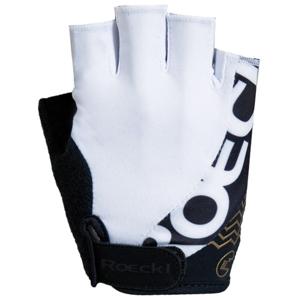 Roeckl BELLAVISTA bílá 10 - Cyklistické rukavice
