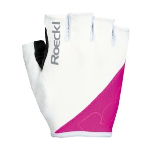 Roeckl BOLOGNA růžová 6 - Cyklistické rukavice