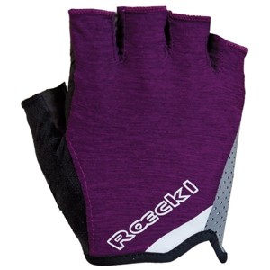 Roeckl DIAZ fialová 8 - Cyklistické rukavice