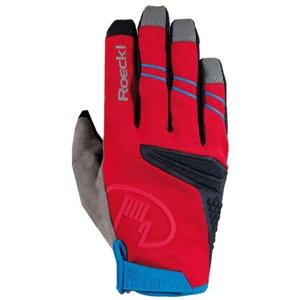 Roeckl MELIDES červená 7 - Cyklistické rukavice