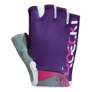Roeckl TITO fialová 5 - Cyklistické rukavice