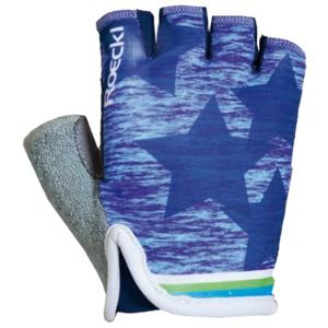 Roeckl TIVOLI modrá 5 - Cyklistické rukavice