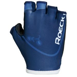 Roeckl TWIST modrá 4 - Cyklistické rukavice