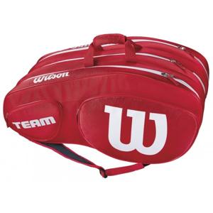 Wilson TEAM III 12 PACK červená NS - Tenisová taška
