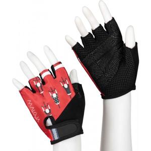 Maloja PLASCH M. červená L - Cyklistické rukavice