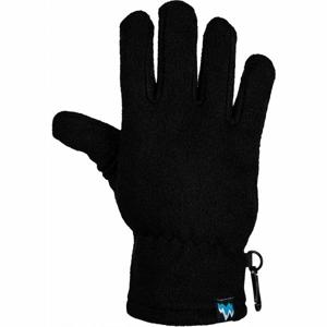 Lewro NERGUI černá 4-7 - Dětské fleecové rukavice