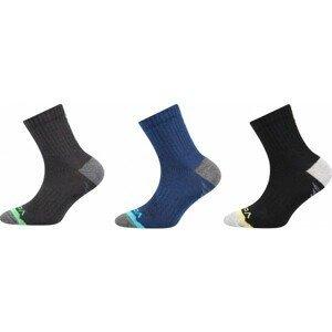 Voxx MAXTERIK 3P černá 23-25 - Dětské ponožky