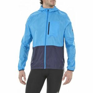 Asics PACKABLE JACKET modrá XXL - Pánská běžecká bunda