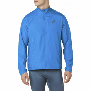 Asics SILVER JACKET modrá XXL - Pánská běžecká bunda