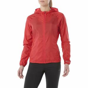 Asics PACKABLE JACKET červená M - Dámská běžecká bunda