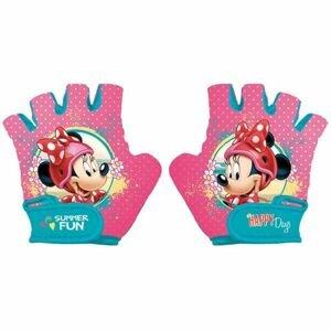 Disney CYKL.RUKAVICE růžová 4-6 - Dětské cyklo rukavice