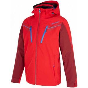 Ziener TILTON RED červená 60 - Pánská lyžařská bunda