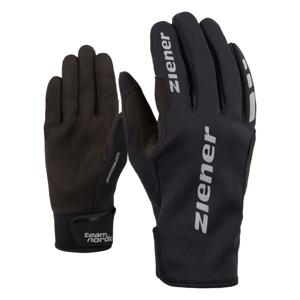 Ziener URS GWS BLACK černá 7,5 - Běžecké rukavice