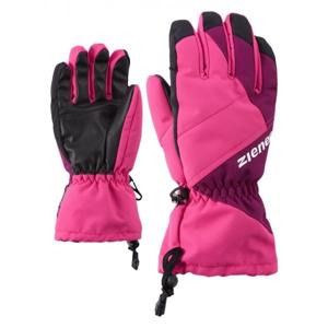 Ziener AGIL AS JUNIOR PURPLE fialová 5 - Dětské lyžařské rukavice