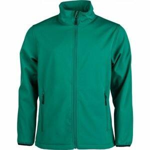 Kensis RORI zelená S - Pánská softshellová bunda