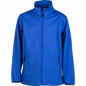 Kensis RORI JR modrá 116-122 - Chlapecká softshellová bunda