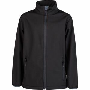 Kensis RORI JR černá 164-170 - Chlapecká softshellová bunda