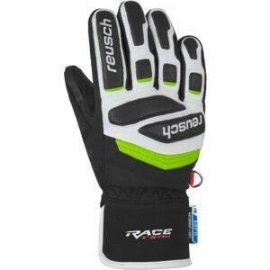Reusch PRIME RACE R-TEX XT JUNIOR bílá 5.5 - Dětské lyžařské rukavice
