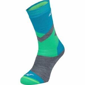 Nordica FREESKI BASIC BOY zelená 27-30 - Chlapecké lyžařské ponožky