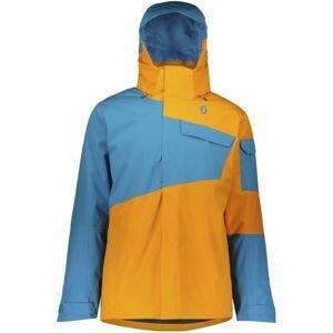 Scott ULTIMATE DRYO 30 oranžová XXL - Pánská zimní bunda