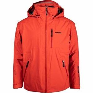 Atomic REDSTER GTX JACKET červená XL - Pánská lyžařská bunda