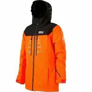 Picture PRODEN oranžová 8 - Dětská lyžařská bunda