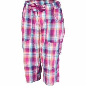 Willard LENTIL růžová 38 - Dámské plátěné 3/4 kalhoty