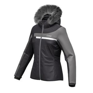 Colmar L.SKI JACKET+FUR šedá 40 - Dámská lyžařská bunda