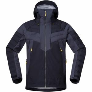 Bergans HEMSEDAL HYBRID JKT tmavě modrá XL - Pánská lyžařská bunda