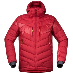 Bergans NOSI HYBRID DOWN JKT červená M - Pánská zateplená bunda