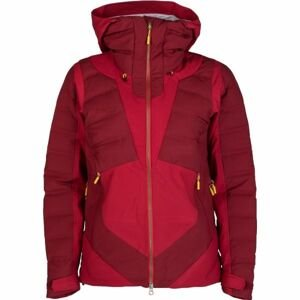 Bergans HEMSEDAL HYBRID LADY JKT červená S - Dámská zateplená bunda