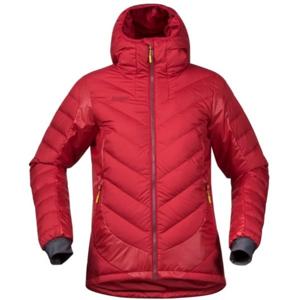 Bergans NOSI HYBRID DOWN LADY JKT červená M - Dámská lyžařská bunda