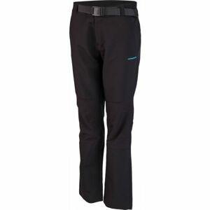 Crossroad AMIE černá L - Dámské softshellové kalhoty