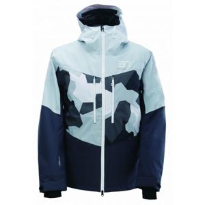 2117 LUDVIKA - ECO bílá XXL - Pánská lyžařská bunda