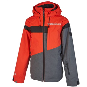 Rehall DYLAN šedá 140 - Dětská lyžařská bunda