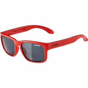 Alpina Sports MITZO červená NS - Chlapecké sluneční brýle