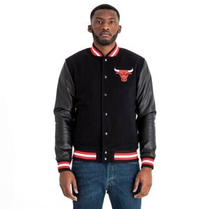 New Era NBA CHICAGO BULLS TEAM VARSITY JACKET černá XL - Pánská bunda