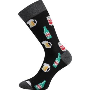 Boma PATTE 033 černá 43/46 - Unisex ponožky
