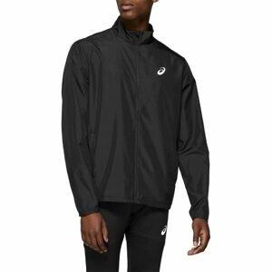 Asics SILVER JACKET černá L - Pánská běžecká bunda