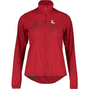 Maloja EVA.M JACKET červená L - Větruodolná sportovní bunda