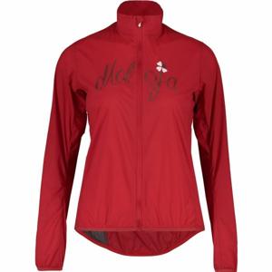 Maloja EVA.M JACKET červená XS - Větruodolná sportovní bunda