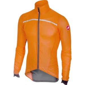 Castelli SUPERLEGGERA oranžová L - Pánská bunda