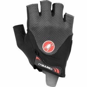 Castelli ARENBERG GEL 2 černá XL - Pánské cyklistické rukavice
