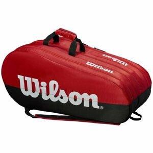 Wilson TEAM 3 COMP bílá NS - Tenisová taška