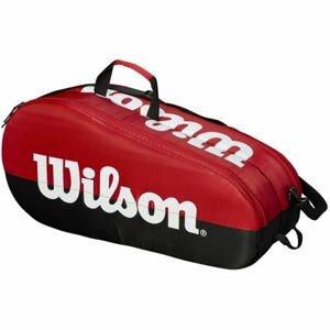 Wilson TEAM 2 COMP červená NS - Tenisová taška