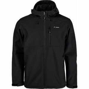 Crossroad PALMER černá L - Pánská softshellová bunda