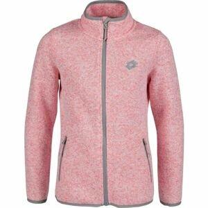 Lotto TIMEA světle růžová 164-170 - Dětská mikina svetrového vzhledu