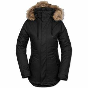 Volcom FAWN INS JACKET černá L - Dámská lyžařská/snowboardová bunda